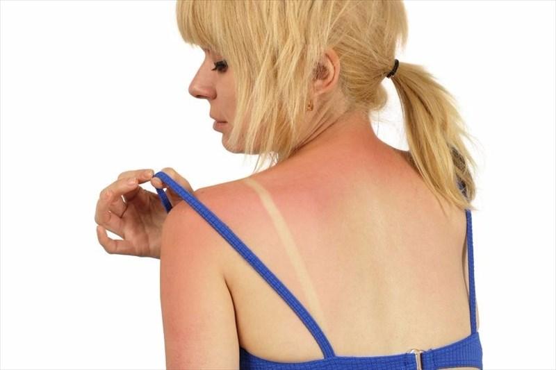 healthy glowing tan